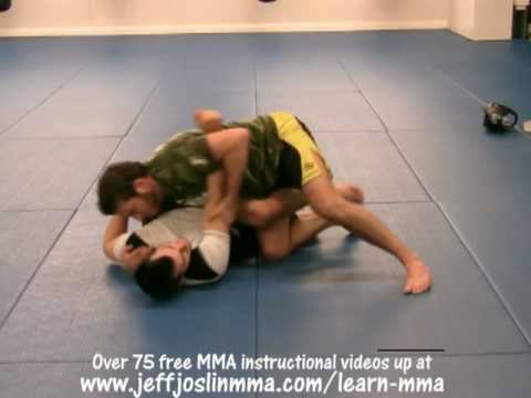 BJ Penn Guard Pass #1 of 5 - Jeff Joslin Breaks down the BJJ technique Image 1