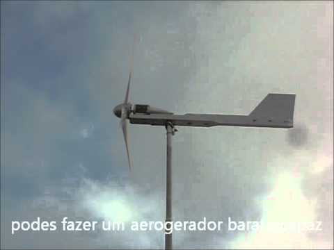 Faz o teu Aerogerador