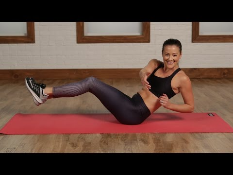 Day 3 Video 2: 5-Minute No-Crunch Flat Abs Workout | Class FitSugar