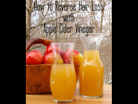 How Apple Cider Vinegar Helps Your Hair loss