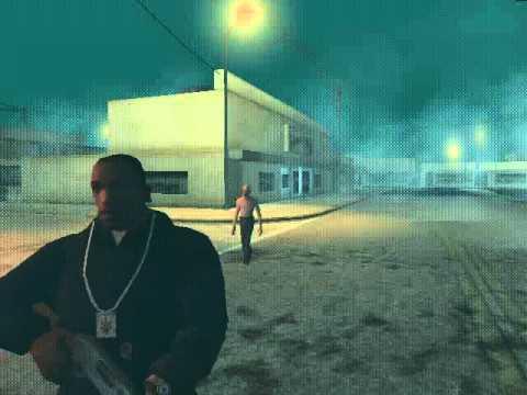 GTA San Andreas Loquendo | Cj y su tio van a Silent Hill