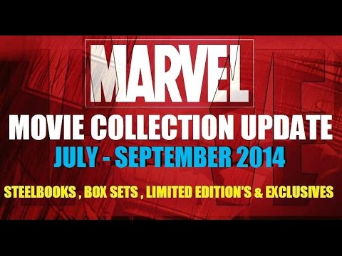 Marvel Movie Blu-ray & Dvd Collection Update Qtr 3 2014 video