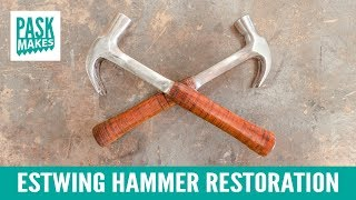 Hammer Restoration - Making a Leather Grip