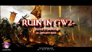 Ruin Gaming – Guild Meeting