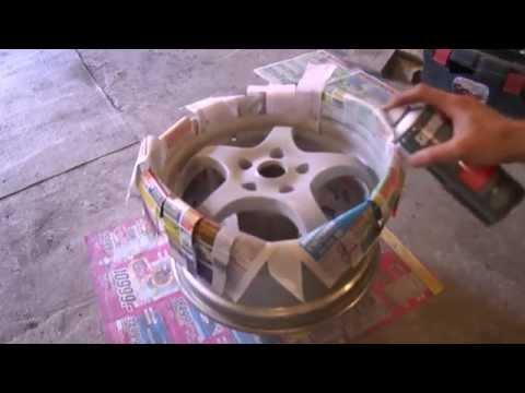 Как очистить колесные диски от краски своими руками в домашних условиях 70