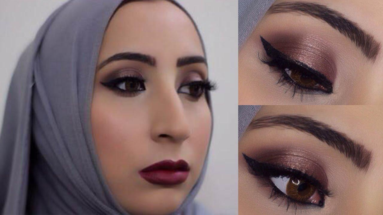 Sexy Borgoña Date Night o partido del maquillaje (ideal para ojos claros!)