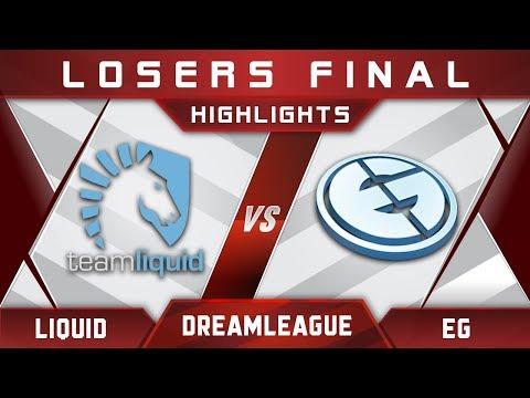 Liquid vs EG LB Final DreamLeague 8 Major 2017 Highlights Dota 2
