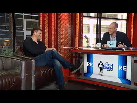 Actor David Boreanaz Joins The RES in Studio - 12/8/14