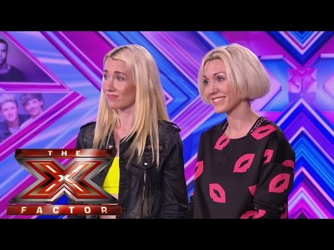 Blonde Electric sing Jessie J's Do it like a dude - Audition Week 1 - The X Factor UK 2014