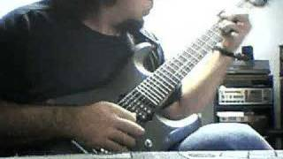 Iced Earth - Wolf Guitar Part by Frankie Caracci