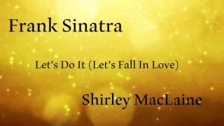 Watch Frank Sinatra Lets Do It video