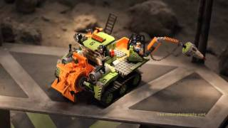 LEGO - Power Miners - Crystal Sweeper commercial