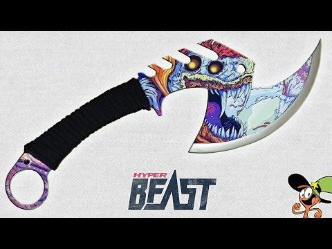 Как сделать Топор Z-HUNTER Скоростной зверь из дерева?