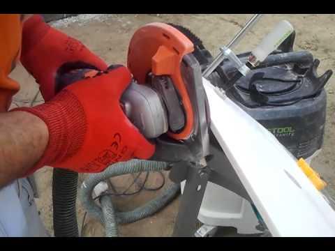 Fazowanie narożników. Protool AGP + Festool SRM 45