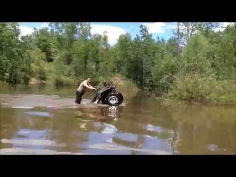 Can Am, Yamaha, Arctic Cat Messing around in the DEEP WATER.