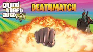GTA 5 TDM Funny Moments With The Crew - Insane Sky Battle! (GTA 5 Funny Moments)