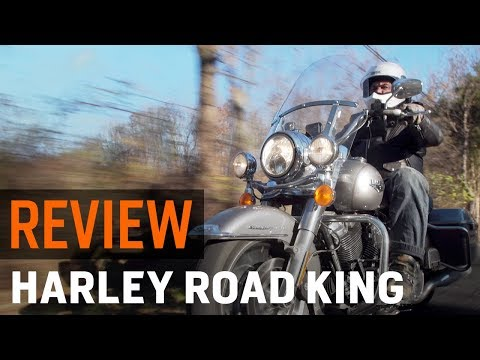 2017 Harley Ddson Road King Review At Revzilla Com
