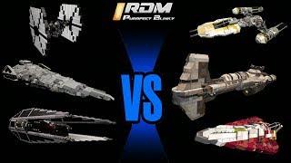 Epic STAR WARS Battle, 20 Ships ( Space Engineers) EPIC Fleet Battle ( EP6)