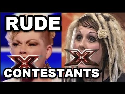 Uhgrrr... WORST And MOST RUDE CONTESTANTS In The WORLD!