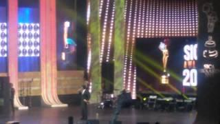 Sivakarthikeyan imitating dhanush sica awards 2015