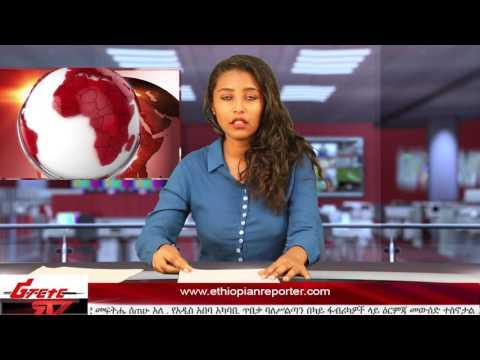 ETHIOPIAN REPORTER TV |  Amharic News 03/11/2017