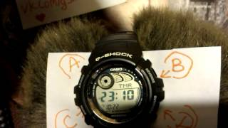 Casio G-Shock G-2900 set up, настройка, module review