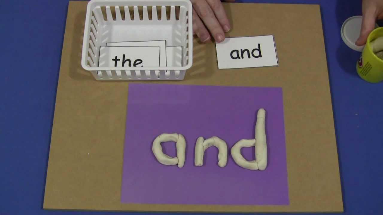 words for kindergarten to write