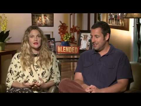 Blended: Adam Sandler & Drew Barrymore Official Junket Movie Interview