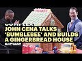 John Cena Talks 'Bumblebee' and Builds A Gingerbread House
