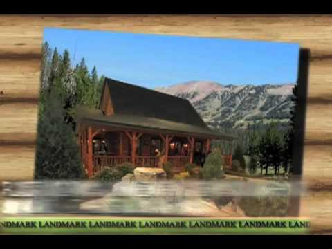 White Cedar Log Homes And Mini Cabins By Landmark Home And