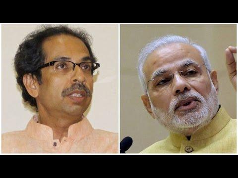 Shiv Sena Boycotts Narendra Modi's  Event in Mumbai