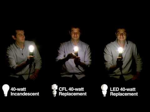 Light Bulb Lineup: Comparing Incandescent Bulbs with CFLs and LEDs