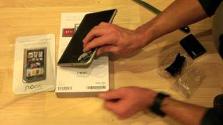 Barnes and Noble Nook Tablet Unboxing