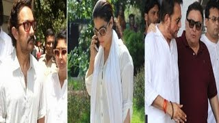 Bollywood celebs ARRIVE to pay TRIBUTE to Late Reema Lagoo
