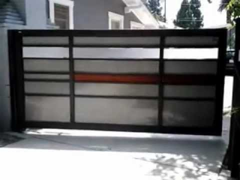 Cmc Fab Amp Design Modern Design Gate Swing 2 Mp4 Youtube