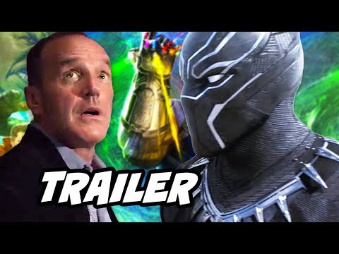 Black Panther Agents Of SHIELD Season 5 Trailer and 100th Episode Theory