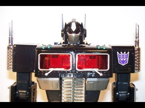 TAKARA MP-10B BLACK CONVOY / NEMESIS PRIME TRANSFORMERS MASTERPIECE REVIEW