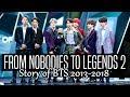 download lagu      BTS  FROM NOBODIES TO LEGENDS 2 (2018)    gratis