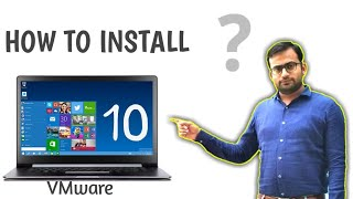 Windows 10 Installation 64 bit in VMware 12