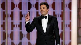 Golden Globes 2017: Host Jimmy Fallon gets off to a shaky start