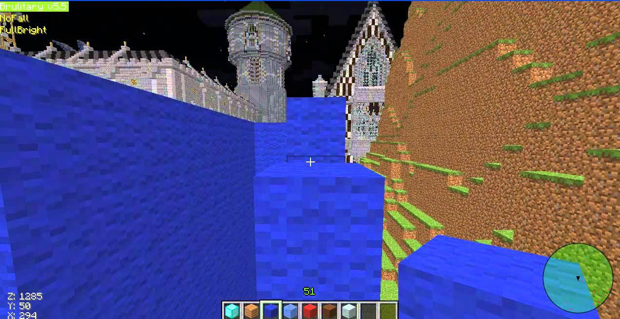 Как построить статую Херобрина в minecraft 1.5.2 - YouTube