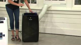Honeywell 10,000 BTU Portable Air Conditioner with Timer with Pat James-Dementri