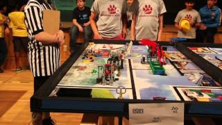 850 POINTS FLL TRASH TREK 2015