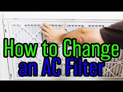 How To Change Your Ac Filter