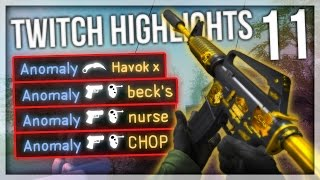TWITCH HIGHLIGHTS 11 - INSANE JUMP HEADSHOTS