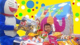 Trò chơi Bé Su Hào bán đồ chơi thiếu nhi ^-^ Doremon đi mua xe ô tô xếp hình
