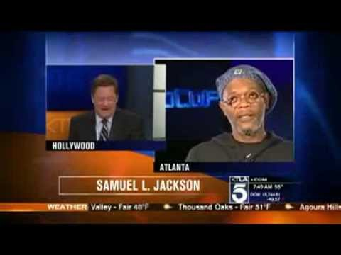 Samuel L. Jackson DESTROYS News Anchor I'm Not Laurence Fishburne. YOU MORON