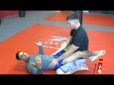 BJJ / MMA Training & Techniques | Scissor Sweep From Guard (Part 1) | Inferno, Marlboro NJ Image 1