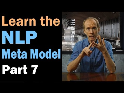 Learn the NLP Meta Model: Presuppositions. Part 7/12