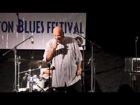 CURTIS SALGADO at the 2012 Denton Blues Festival Music Videos